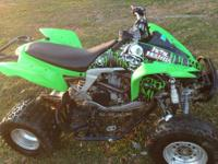 Selling kfx450r it has full HMF exhaust with optimizer,