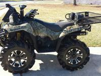 I am listing my 2010 Brute Force 750EAF Camouflage