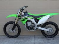 ...The 2010 Kawasaki KX450F provides an ideal platform