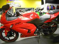 2010 Kawasaki Ninja 250 in Red with 12242miles. Well