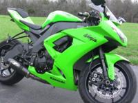 This is a spick-and-span ZX10. Fresh oil modification