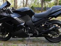 2010 Kawasaki Ninja ZX-14 with 3,669 highway miles, Hot