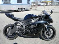 2010 Kawasaki Ninja ZX-6R METALLIC SPARK BLACK ONLY