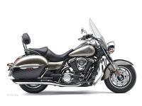 With its large windshield hard saddlebags passenger