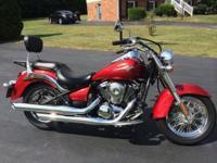 I am selling a 2010 Kawasaki Vulcan 900 with 6,035