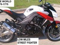 2010 Kawasaki Z-1000.STREET FIGHTER ! 1048cc motor.