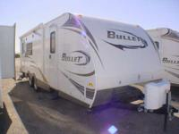 2010 Keystone Bullet 250RKS 30 foot rear kitchen travel