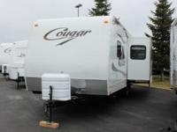 2010 Keystone Cougar 25RLS. Secondhand Certified