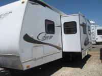 2010 Keystone Cougar 26BHS CN1807 Dry Weight 5,940