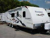 This is a 2010 Keystone Cougar 293 SAB purchased new