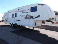 2010 Keystone Cougar 320 SRX two slide outs This