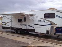 This fifth wheel is catered to the family, it is a