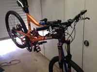 this is an upper end mountain bike manufactured by