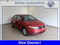 Kia Forte EX CARFAX One-Owner. CarFax One Owner, Manual