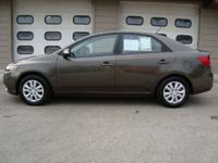 Options Included: CARFAX GUARANTEED!! 2010 KIA FORTE EX