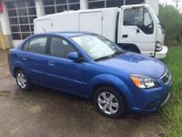 Options:  2010 Kia Rio Lx 4Dr Sedan 4A|Blue|This 2010