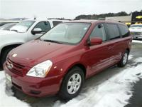 Exterior Color: red, Body: Minivan, Engine: 3.8L V6 24V