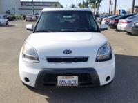 Options:  2010 Kia Soul|White|Carfax One-Owner. Clean
