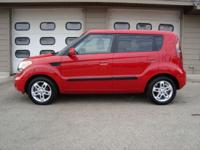 Options Included: CARFAX GUARANTEED!! 2010 KIA SOUL +