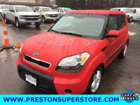 Options:  2010 Kia Soul Plus|Red|1 Owner Clean Car Fax