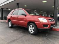 LOW MILES, This 2010 Kia Sportage LX will sell fast