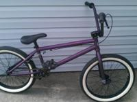 I have a brand new 2010 Kink Whip bike fantastic color,
