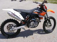 This 2010 KMT 450SX-F comes with fresh Tech Care