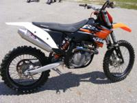 This 2010 KTM 450SX-F has fresh Tech Care Suspension,