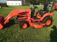 Extremely clean 2010 Kubota BX2660 with 359 hours.