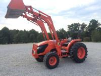 2010 Kubota MX5100 tractor. HST trans!!!! 4x4.