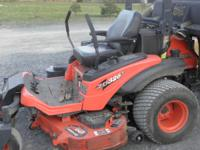 2010 Kubota ZD 326 Zero Turn diesel power up/down deck,