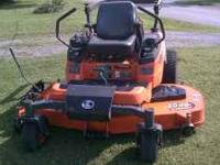 I have a 2010 Kubota diesel ZD331 zero turn mower. This