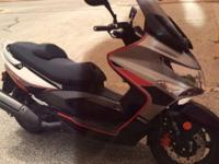 I have a 2010 Kymco Xciting scooter for sale. It was