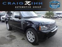 New Arrival! LOW MILES, This 2010 Land Rover Range