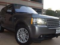 This Land Rover Range Rover is reliable and stylish. It
