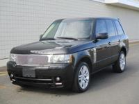 You are looking at a beautiful, 2010 Land Rover, Range