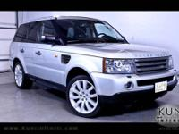 2010 LandRover RangeRoverSport LUX HSE LUX SUV Black