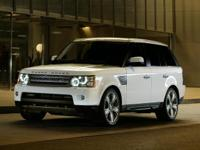 2010 Land Rover Range Rover Sport Supercharged in White
