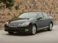 Recent Arrival! Blue 2010 Lexus ES 350 FWD 6-Speed