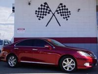 Options:  2010 Lexus Es 350 Base 4Dr Sedan|Matador Red