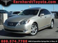 We are pleased to offer you this nice 2010 Lexus ES350