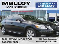 Black 2010 Lexus GS 350 AWD 6-Speed Automatic with
