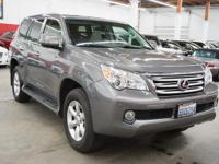 This 2010 Lexus GX features a 4.6L V8 DOHC 32V 8cyl