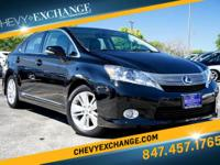 Options:  2010 Lexus Hs 250H Base|Black Opal