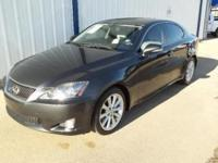 A 2010 Lexus IS 250 with only 19,910 miles!! This