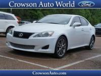 In this 2010 Lexus IS 250,enjoy every drive with prime