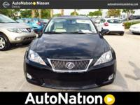 2010 Lexus IS 250 Our Location is: AutoNation Nissan