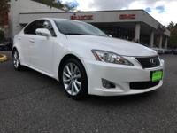 *LOCAL TRADE*. White 2010 Lexus IS 250 RWD 6-Speed