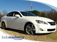 *Low Miles* *This 2010 Lexus  IS 250 Base has a sharp