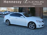 2010 Lexus IS 250 in Starfire Pearl. *CARFAX ACCIDENT
